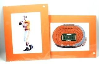 Neyland Stadium and Peyton Manning Prints