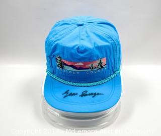 Hat Autographed by Golf Great Gene Sarazen