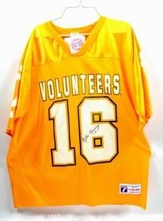 Tennessee Vols Jersey Autographed by Peyton Manning