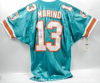 Miami Dolphins Jersey Autographed by Dan Marino