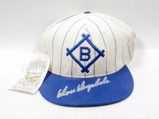Brooklyn Dodgers Hat Signed by Don Drysdale