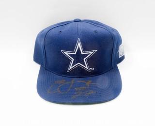 Dallas Cowboys Hat Signed by Emmitt Smith