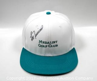 Hat Signed by Lee Trevino
