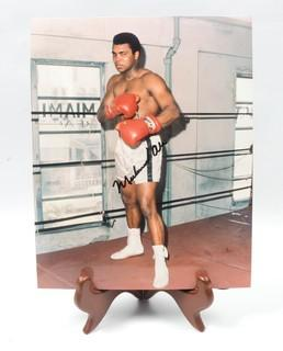 8 x 10 Autographed Photo of Muhammad Ali