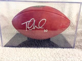 Jake Locker Autographed Official NFL Game Ball