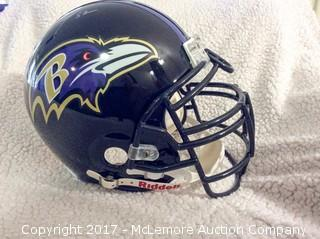 Ray Lewis Autographed Authentic Full Size Baltimore Ravens Helmet