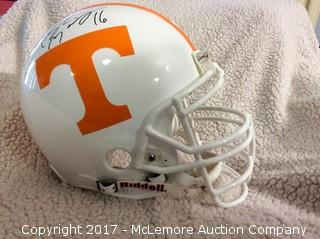 Peyton Manning Autographed Authentic Full Size Tennessee Vols Helmet