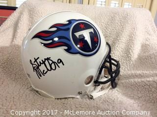 Steve McNair Autographed Authentic Full Size Tennessee Titans Helmet