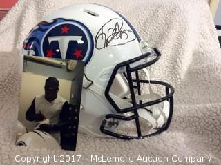 Derrick Henry Autographed Authentic Speed Full Size Tennessee Titans Helmet