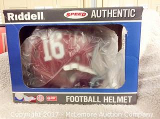 Derrick Henry Autographed Authentic Speed Full Size Alabama Helmet
