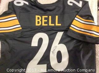 Le'Veon Bell Autographed Pittsburgh Steelers Jersey