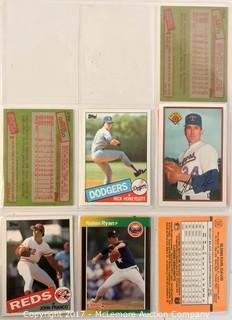 Assortment of Bowman, DonRuss and Topps Baseball Cards