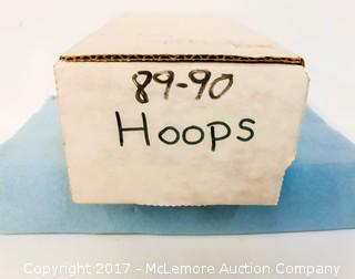 Assortment of 1989-1990 NBA Hoops Basketball Cards