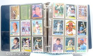 Assortment of 1980s Baseball Cards from DonRuss, Fleer, Topps and Others