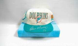 Miami Dolphins Hat Signed by Dan Marino
