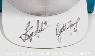 Hat Signed by Brett Favre and Troy Aikman
