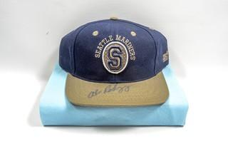 Seattle Mariners Hat Signed by Alex Rodriguez