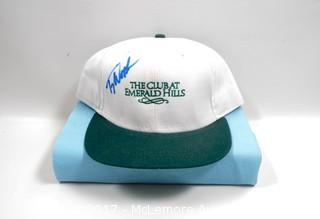 Hat Signed by Tiger Woods