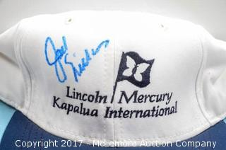 Hat Signed by Jack Nicklaus