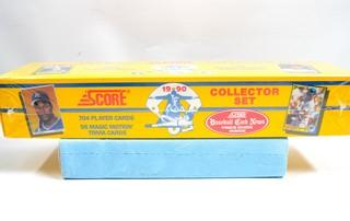1990 Score Collector Set Baseball Cards, New and Factory-Sealed in Box