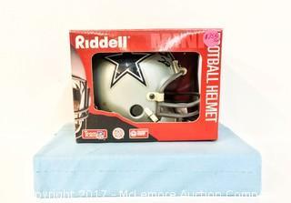 Unused Lil' Riddell Dallas Cowboys Mini Helmet Signed by Emmitt Smith