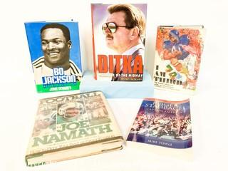 Assorted Football-Related Books