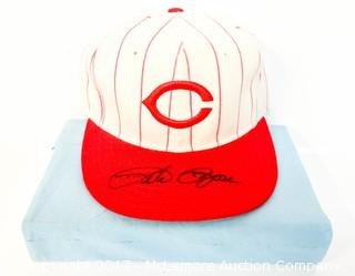 Cincinnati Reds Hat Signed by Pete Rose