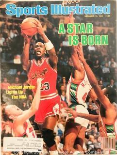 Vintage Sports Illustrated Magazines Featuring Michael Jordan
