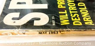 Vintage Sport Magazine Featuring Mick Mantle and Yogi Berra
