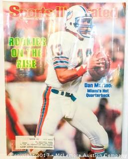 Vintage Sports Illustrated Magazine Featuring Dan Marino