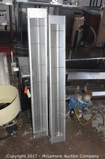 Two Nemco Infrared Strip Heaters