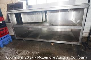Stainless Steel Kitchen Prep Table with Insert