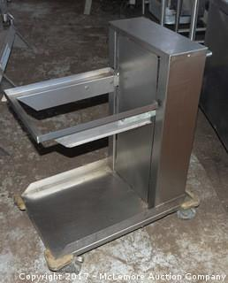 APW Wyott Lowerator Glass Dispenser