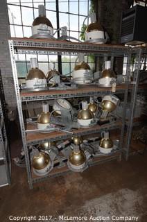 Set of Industrial Shelves