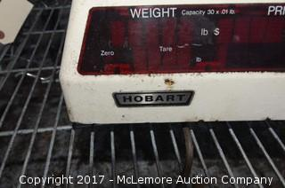 Hobart Commercial Kitchen/Grocery Scale