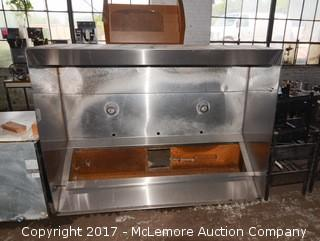 Stainless Steel Commercial Kitchen Hood
