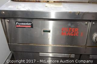 Frymaster Two Well Deep Fryer with Dump Station