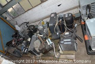 Two Pallets of Refrigeration Blower Units