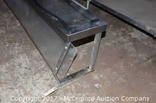 Stainless Steel Countertop Sneeze Guard