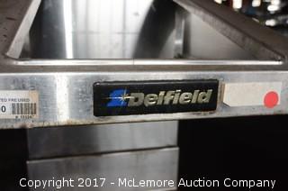 Delfield Rolling Heated Fry Dump Station