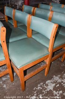 14 Solid Wood Upholstered Chairs