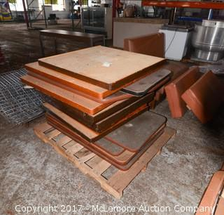 Solid Wood and MDF Table Tops