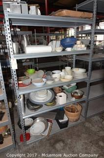 Set of Industrial Shelves
