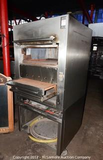 Jade Rolling Upright Commercial Radiant Broiler with Finishing Oven