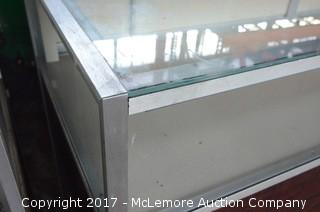 Berg Company Rolling Display Case with Internal Lighting
