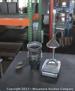 Stainless Steel Lever Press Citrus Juicer
