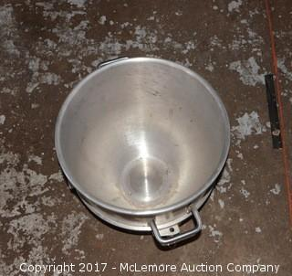 40 Gal. Stainless Steel Hobart Commercial Mixing Bowl