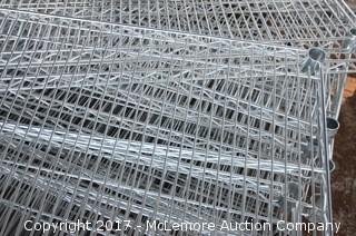 New Seville Classics Chrome Wire Shelves