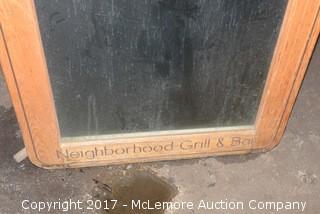 Light up Applebee's Sign