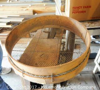 Antique Corn Shucker and Sifter